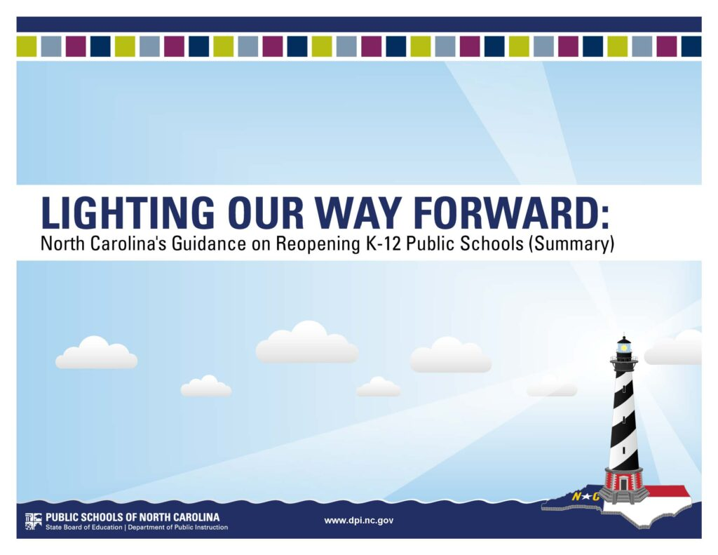 Lighting OUr Way Forward: NC Guidance for Reopening