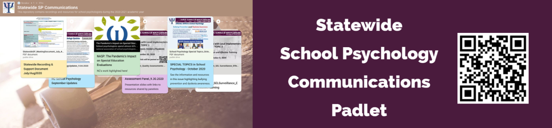 Statewide School Psychology Communications Padlet