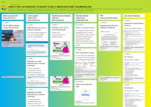 School Psychology Resource Sharing Padlet